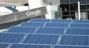 Google solar panels