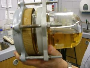 Maturing whisky